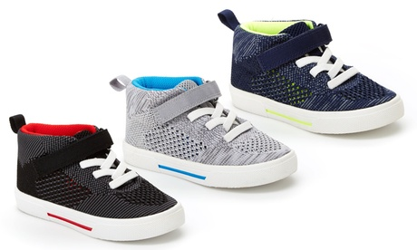Carter's Kid's Knight 2 High Top Sneakers (Sizes 7, 8, 9, 10) eeea64a8-223a-11e8-9ee8-00259069d7cc
