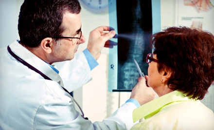 Chiropractic Exam, Xrays, and One or Three Adjustments at Chiropractic Associates of Pasadena (Up to 77% Off)