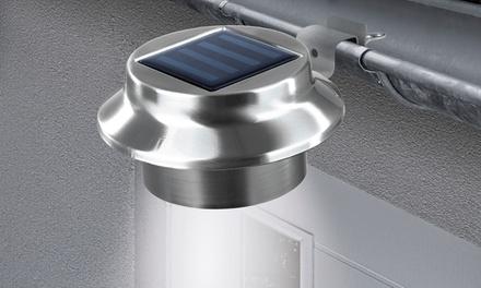 easymaxx solar dachrinnenleuchten groupon. Black Bedroom Furniture Sets. Home Design Ideas