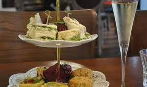 Queens Cafe Bistro: High Tea for Two People ($49) with Optional Bubbles ($59) at Queens Cafe Bistro