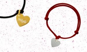Markiza Pracownia Złotnicza: Srebrne lub złocone serce z grawerunkiem od 35 zł i więcej opcji w sklepie Markiza Pracowania Złotnicza