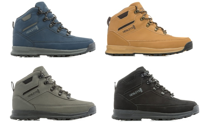 usa cheap sale great deals presenting Up To 33% Off Henley's Travis Hiker Boots | Groupon