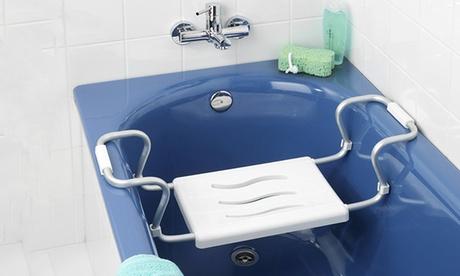Sedile vasca da bagno Secura di Wenko con larghezza regolabile