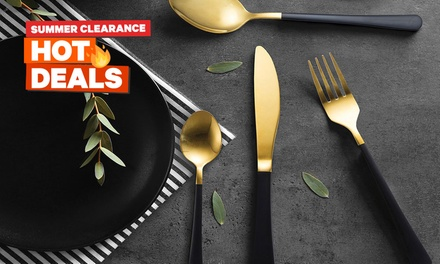 Cutlery Set: 16-Piece ($25) or 32-Piece ($45) (Don't Pay up to $338)