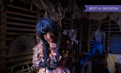 Up to Ten Entry Tickets to Hysteria Haunted Attraction at Dubai Mall (Up to 45% Off)