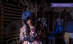 Hysteria Haunted Attraction: Hysteria Haunted Attraction Entry for Up to Six People (Up to 40% Off)