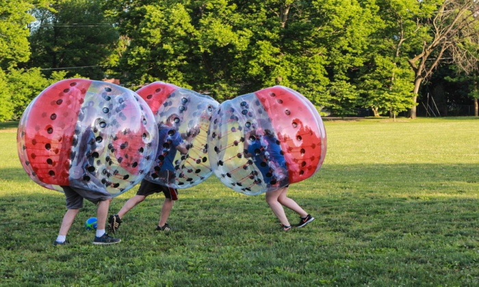 Bubble Soccer Open Play at Cobb Knockerball (Up to 61% Off). Five Options Available.
