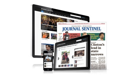 Up to 92% Off Subscription from Milwaukee Journal Sentinel