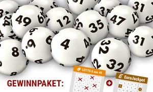 Tipp24.com: 2 oder 4 Wochen 6 aus 49 und EuroJackpot online spielen bei Tipp24.com (bis zu 66% sparen*)
