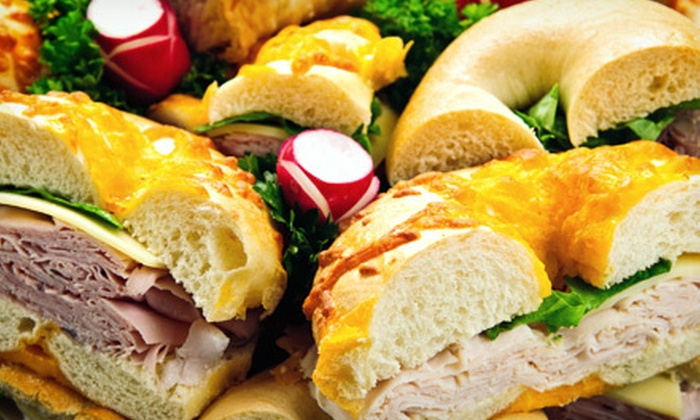 The Bagelry - Colesville: $10 for $20 Worth of Deli Food, or a Bagel Bucket at The Bagelry