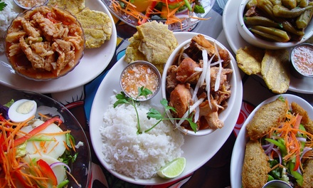 Haitian Food at Tap Tap Haitian Restaurant (Up to 42% Off). Two Options Available. Groupon Reservation Required.