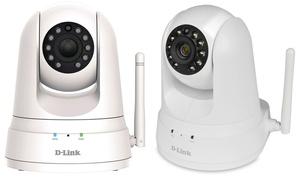 D-Link HD Pan-and-Tilt Wireless Day/Night Cloud Surveillance Camera