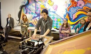 Up to 56% Off T-Shirt Printing Workshops at Gowanus Print Lab