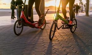 Elliptigo: 1u of 2u elliptisch fietsen voor 1 of 2 personen vanaf € 34,99 bij ElliptiGo