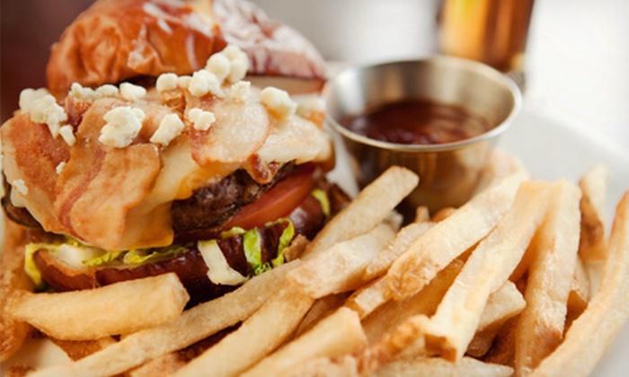 Lumpy's Grill - East Longmeadow: Appetizers and Burgers at Lumpy's (Half Off). Two Options Available.