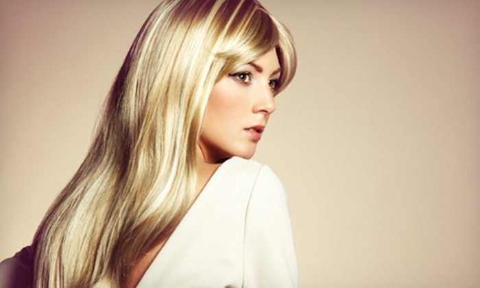 Hairaholic Salon - Hairaholic Salon: Haircut, Single-Process Color, or Partial Foils at Hairaholic Salon (Up to 60% Off)