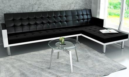 Sofá cama ajustable en forma de L por 239 €