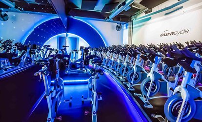 5 or 10 Indoor-<strong>Cycling</strong> Classes at Aura Cycle (74% Off)