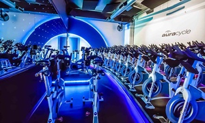 77% Off Indoor-Cycling Classes at Aura Cycle  at Aura Cycle, plus 6.0% Cash Back from Ebates.