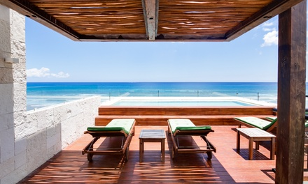 Stay at the Secluded 4-Star Adults Only O'Tulum Beachfront Hotel with Dates into December
