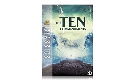 History Classics: The Ten Commandments on DVD bbe22a7a-ee22-11e6-9313-00259060b5da