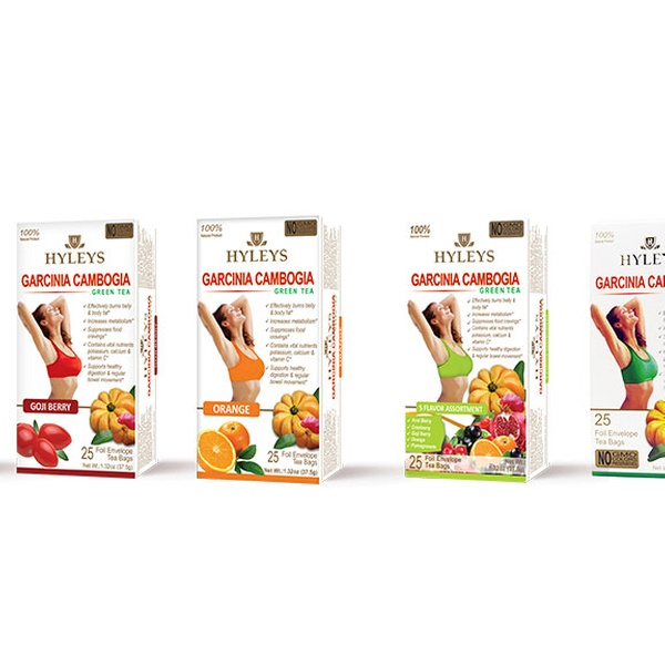 Up To 48 Off On Hyleys Garcinia Cambogia Teas Groupon Goods