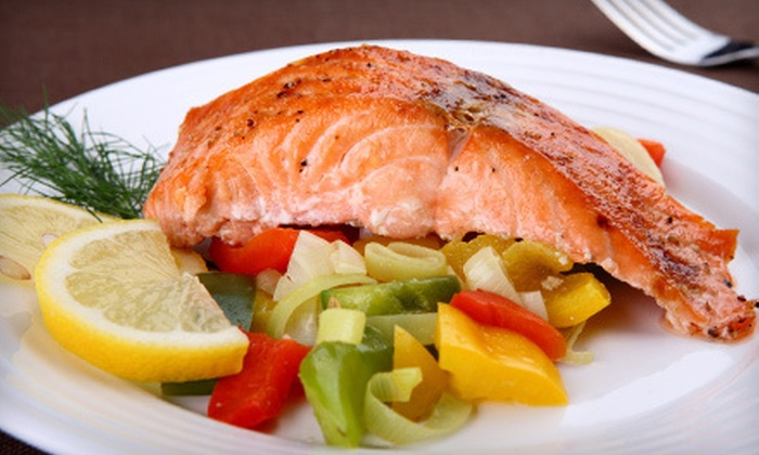 J&M Fish Market - Scottsdale: $10 for $20 Worth of Seafood and Barbecue at J&M Fish Market