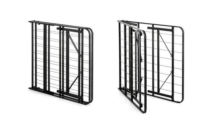 Weekender 14 Quot Folding Platform Bed Frame Groupon