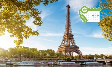 Parijs: tweepersoonskamer of familiekamer voor 4 pers., naar keuze met ontbijt bij Hotel Delos Vaugirard