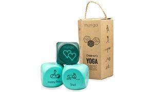 1 ou 2 lots de dés de yoga pour enfants de Myga
