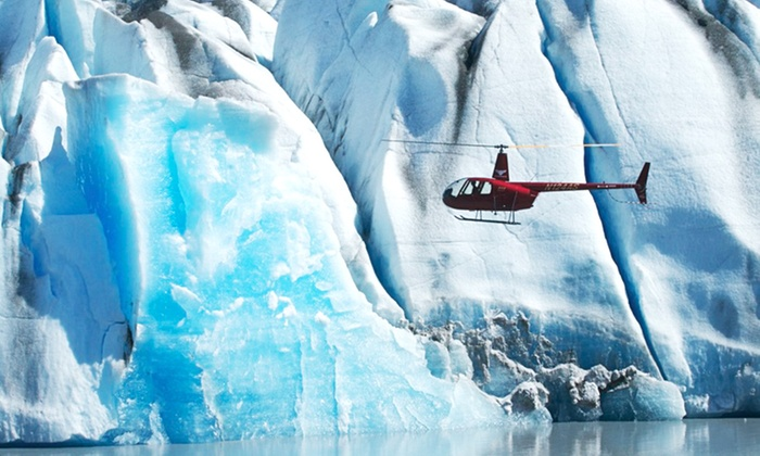 Knik River Lodge - Knik Glacier, AK: 1- or 2-Night Cabin Stay for Two w/ Optional Helicopter Ride at Knik River Lodge in Palmer, AK. Combine Up to 4 Nights.