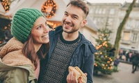 Bratwurst and Hot Chocolate for Two or Family of Four at Spinningfields Christmas Market