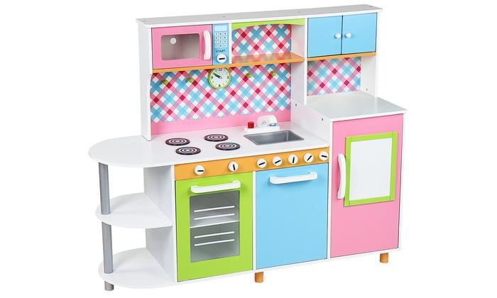 Cocinas de madera para ni os groupon - Cocinas de madera para ninos ikea ...