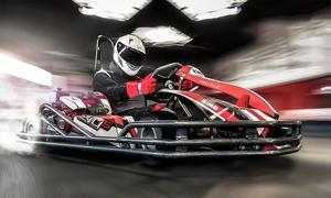 Burnout Celler Kartbahn: 2x 10 Min. Kart fahren inkl. Sturmhaube und Rennlizenz auf der Burnout Celler Kartbahn (bis zu 47% sparen*)