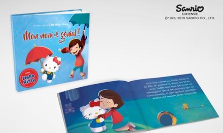 Jusqu'à 10 livres personnalisés Hello Kitty dès 8,99 € avec Story of my Name (jusqu'à 74% de réduction)