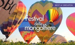 Festival delle Mongolfiere, agosto e settembre a Treviso: Festival delle Mongolfiere, i week-end dal 26 agosto al 3 settembre a Treviso