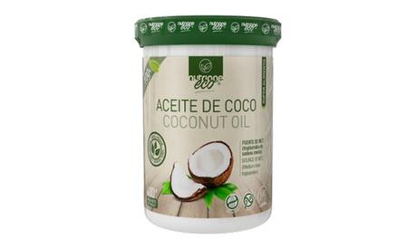 1 o 2 botes de aceite de coco virgen de 350 ml Oferta en Groupon