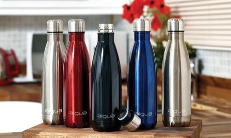 1 o 2 botellas isotérmicas Aigua de 500 ml