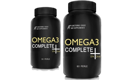 Fino a 360 compresse di Integratore alimentare Omega3 Complete A.I.F.