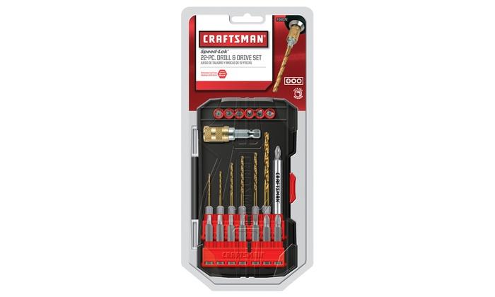 Craftsman Drill/Driver Bit Set (22-Piece)