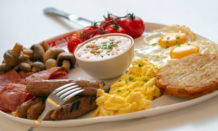 Breakfast with Soft Drink for Two Or Four at Big Moe's Diner