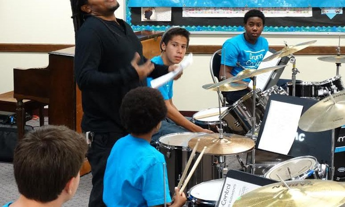 Drum-Central - West Central: Five-Day Drum Camp at Drum-Central (50% Off)