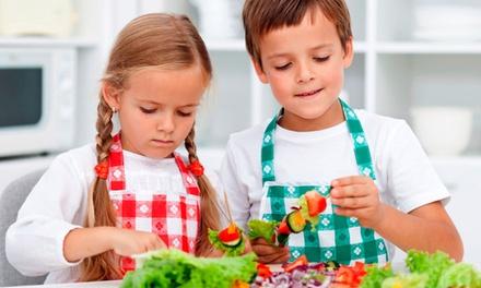 Valladolid: 4 o 9 noches para 1 o 2 niños, pensión completa, Campamento Mini Chef y actividades en Centro Rural Bocigas