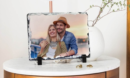 Stampa foto su pietra ardesia a 8,99€euro