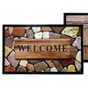 "18""x30"" Outdoor Welcome Mat with HD Printed Designs"