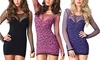 Leg Avenue Women's Lingerie Mini Dress