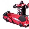 RC Luxury Car Transforming Robot Toy