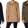 Women's Hooded Trench Coat