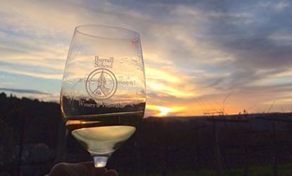 image for <strong>Wine Tasting</strong> Experience for Two or Four at Burrell School Vineyards and Winery (Up to 38% Off)
