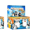 Penguins of Madagascar on DVD or Blu-Ray with 2 Poppin' Penguins Toys